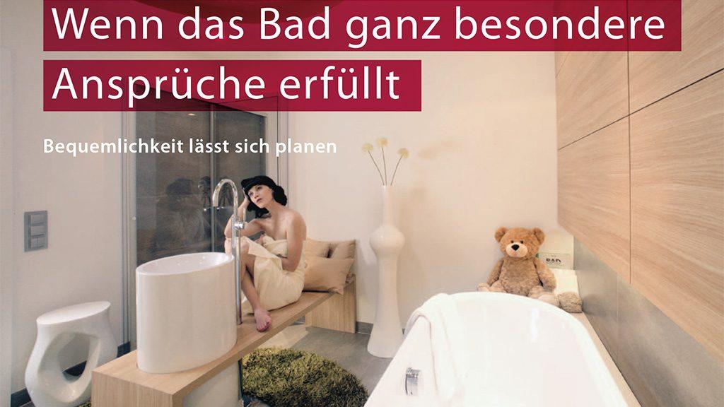 Barrierefreies Bad - ein Bad mit besonderen Ansprüchen.
