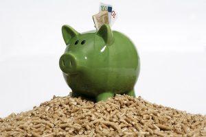 Wer mit Pellets heizt spart langfristig Geld. Foto: Foto: Deutsches Pelletinstitut